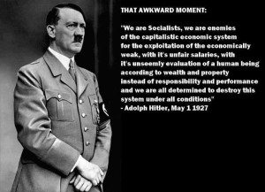 Hitler the enemy of capitalism